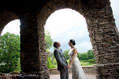 Heather & Chris's North Carolina wedding at The Arbors outdoor