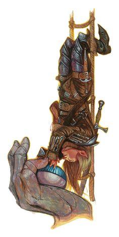 D&D Complete Adventurer - halfling rogue