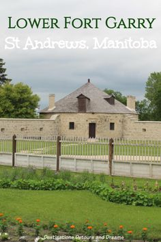 The restored Lower Fort Garry National Historic Site, near Winnipeg, Manitoba, recreates life in the fur-trade era. Places To Travel, Places To See, Red River Valley, Fur Trade, Parks Canada, Old Fort, Western Canada, Short Trip, Canada Travel