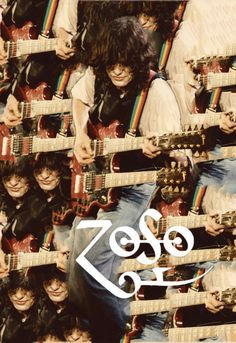 Jimmy Page. zoso. seeing double. trippy.