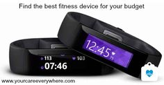 There are wearable fitness devices that fit every budget. Find a fitness tracker that meets your needs and is in your budget. Wearable Computer, Wearable Device, Wearable Technology, Technology News, Latest Technology, Fitness Workouts, Fun Workouts, Fitness Band, Fitness Goals