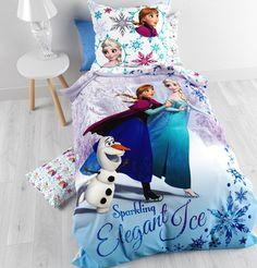Disney Frozen Dekbedovertrek met Kussensloop (Elegant Ice)  #disney #frozen #dekbedovertrek