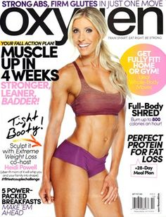 OXYGEN Magazine is a magazine about fitness! Oxygen is an excellent choice for women who wish to better themselves through physical fitness and nutrition. Oxygen will help show you how to reach virtually any goal and improve your life with the right positive approach. Each issue if your ultimate guide to a happier, healthier life. #women #muscle #fitness #performance #magazines #books