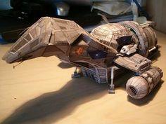 starship firefly papermodel