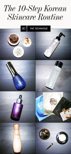 A breakdown of the products that keep Korean women so notoriously pore-less