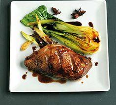 Five spice roast duck breast