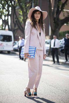 Milan fashion week street style spring/summer '14