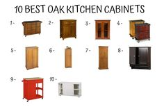 Oak Kitchen Cabinets - the Most Popular Design Anywhere in the World - Home Furniture Design Cabinet Island, Oak Kitchen Cabinets, Tall Cabinet Storage, Kitchen Decor, Furniture Design, Popular, Home Decor, Decoration Home, Room Decor