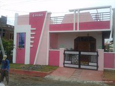 House Front Wall Design, House Balcony Design, House Arch Design, Single Floor House Design, Modern Small House Design, House Outside Design, Village House Design, Home Building Design, Minimalist House Design