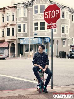 Hyung Sik - Cosmopolitan Magazine February Issue '14