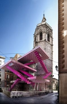 LEGO Inspired Photographic Work Drawing Attention on Valencia's Decaying Buildings