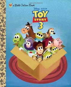 Toy Story 3 (Disney/Pixar Toy Story 3) (Little Golden Book) by Annie Auerbach http://www.amazon.com/dp/073642668X/ref=cm_sw_r_pi_dp_X6M5tb1PVDXTZ