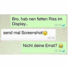 27 WhatsApp chats that you have to laugh about, even if you do not want to Whats App Fails, Funny Texts, Funny Jokes, Funny Chat, Funny Text Messages, Try Not To Laugh, Funny Fails, Laugh Out Loud, Fun Facts