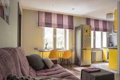 Фото из статьи: Как совместить кухню с гостиной в маленькой квартире: 10 примеров и советы профи