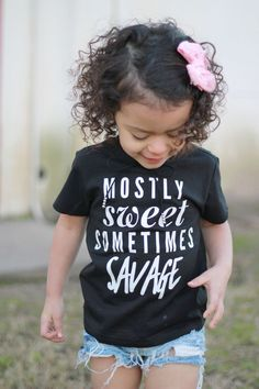 ed178eeac5 The life of a toddler! Sweet  amp  Savage tee from modishtrendsshop.com Baby