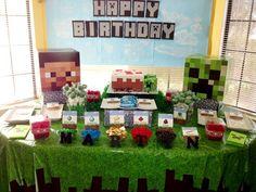 Ideias criativas para festa Minecraft! - Just Real Moms - Blog para Mães