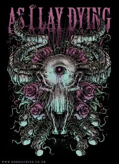 As I Lay Dying <3  I LOVE this picture