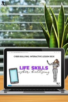Are you looking to help your students develop coping skills for cyber bullying with a self-directed, interactive lesson that provides immediate feedback? This Life Skills lesson on Cyber Bullying is completely remote and hosted online – simply give students the website and password and off they go! Teacher Resources, Teaching Ideas, Life Skills Lessons, Cyber Bullying, Guidance Lessons, Technology Integration, Classroom Community, Coping Skills, Distance