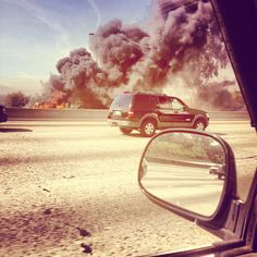 So hot this past summer, cars could've ignited. Sad day