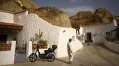 A cave home in Guadix, Spain (Credit: Jorge Guerrero/AFP/Getty)