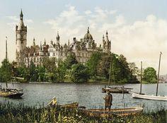 Dez fotos raras da Alemanha de 1900, antes de ser destruída pelas guerras  PALÁCIO DE SCHERIN (FOTO: TASCHEN VIA BOREDPANDA)