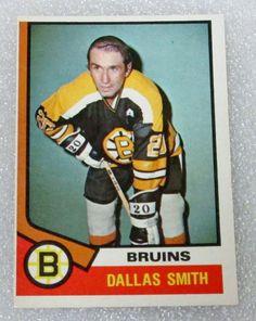 NHL OPC 1974-75 DALLAS SMITH HOCKEY CARD! Boston #Bruins EX - N/M. | eBay