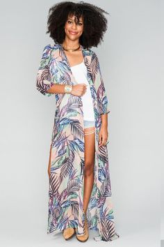 Karmyn Cape in Palm Funday by Show Me Your Mumu