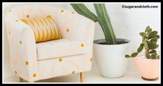 These 13 DIY Ikea hacks are easy to complete in a weekend or less. These projects will transform tables, headboards, side tables into smart storage, and bring new life to boring ikea furniture. Dining Chair Makeover, Rocking Chair Makeover, Old Chairs, Slipcovers For Chairs, Swing Chairs, White Chairs, Desk Chairs, Rattan Chairs, Rocking Chairs