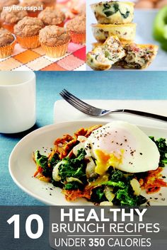10 tasty brunches that won't ruin your calorie goals for the day.