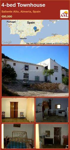 4-bed Townhouse in Saliente Alto, Almeria, Spain ►€80,000 #PropertyForSaleInSpain
