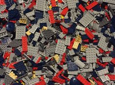 New Lego Bulk Lot By The Pound Pieces Parts Authentic Star Wars 1 To 300 Lbs #LEGO