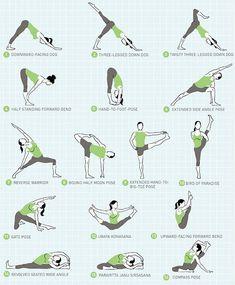 Sequence to Help You Progress in Compass Pose Jason Crandell Vinyasa Yoga Method Yoga Meditation, Yoga Bewegungen, Sup Yoga, Yoga Moves, Yoga Exercises, Vinyasa Yoga Poses, Pilates Poses, Stretches, Iyengar Yoga