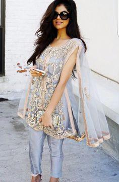 HOX nyc - Scarlett cape. Pakistani fashion