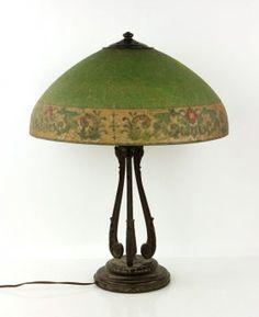 Handel Art Nouveau Table Lamp