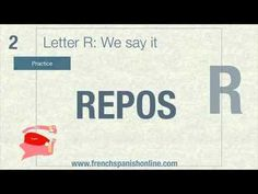 The Letter R in French - How to say it.
