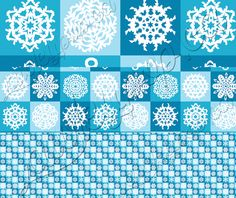 """New royalty-free, commercial-use graphic resource available for sale! """"Checkered Snowflakes"""" (Pattern, .PAT) http://www.lawleypop.ca/design/resources/checkered-snowflakes/ A blue checkered pattern featuring 9 ornate and decorate snowflakes. Available in 5 sizes: (not shown) Large Print, Print, (shown) Large Web, Med Web, Small Web. Only $1.99!  #graphicresource #designresource #photoshopresource #resource #graphicresource #photoshop #pattern #royaltyfree #commercialuse #stock #stockresource"""