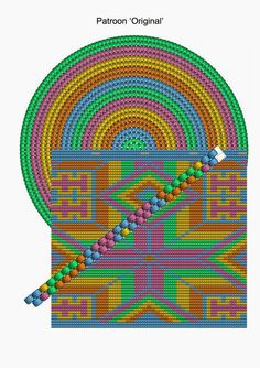 CraftsbyManon: Mochila bag – Original Related posts:Bean DiblesiAir Fryer Grilled Cheese SandwichesSavory Low-Carb Marinade for Grilled Chicken, Pork, or Beef Form Crochet, Crochet Chart, Crochet Motif, Loom Beading, Beading Patterns, Mochila Crochet, Tapestry Crochet Patterns, Tapestry Bag, Native Beadwork