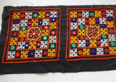 Kutch Hand Embroidered Multi Coloured Ethnic by uDazzleSupplies