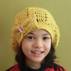 Yellow Hat with Fancy Bow от PrincessInDreams на Etsy, $38.00