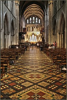 in St. Patrick`s Cathedral · Dublin © Susanne Czora