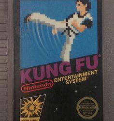 Kung Fu Arcade NES Nintendo Entertainment System Video Game Action Cartridge