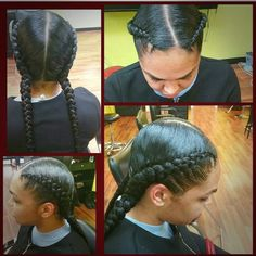See this hairstyle by @DopeCornrowStyles on Tress • 1 likes