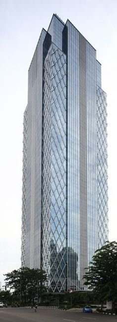 Equity Tower, Jakarta, Indonesia by DP Architects :: 44 floors, height 220m