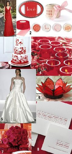 valentine wedding dress