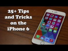Más de 25 trucos (en inglés) para iPhone (5 y 6, sobre todo)  25+ Tips and Tricks for the iPhone (5,6)