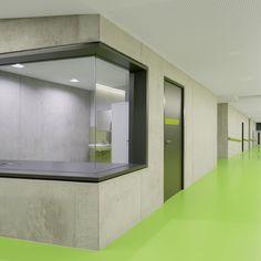 Sporthalle - Zoll-Architekten Stadtplaner GmbH Pavilion, Planer, Foyer, Bathroom Lighting, Windows, Mirror, Furniture, Home Decor, Sports