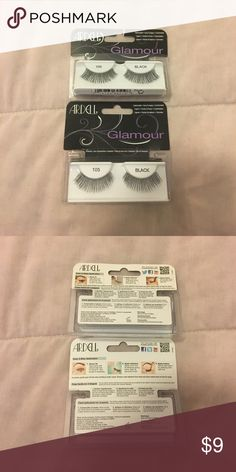 Lot Of Two Ardell Glamour Fake Lashes Brand new. Black. Makeup
