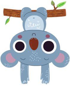 Koala emoji design