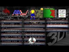 How to create Jimmy Uso in Wrestling Revolution 3D