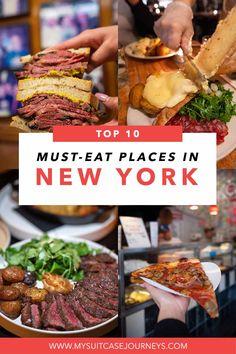 New York Travel Guide, New York City Travel, New York Bucket List, Bucket Lists, Travel Guides, Travel Tips, Travel Destinations, Food Travel, Usa Travel